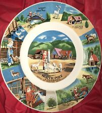 vintage north pole Colorado Christmas plate souvenir collector