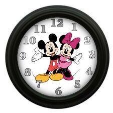 Mickey & Minnie Mouse Clock Kids Room Decor Bedroom Decor