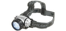 Led headlamp head torch beam angle d'ajustement 3 modes IP44 rated sangle réglable