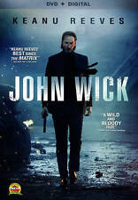 John Wick DVD Keanu Reeves Action Thriller Movies Film 2015 Free Shipping NEW