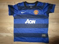 Manchester United Nike Soccer Football Jersey Youth S 4-6 4-5 yrs. 104-110cm