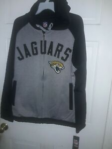 Jacksonville Jaguars football Hooded track Jacket sweatshirt NFL  shirt JAX XL