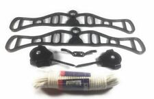 BLACK VICTORIAN STYLE CEILING HANGING CLOTHES DRYER PULLEY ROPE LAUNDRY MAID