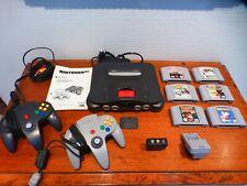 Nintendo 64 N64 Konsole (PAL) mit 6 Spielen und Expansion Pak