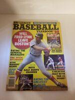 Baseball card Magazine 1980