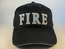 Fire Adjustable Strap Cap Hat Navy