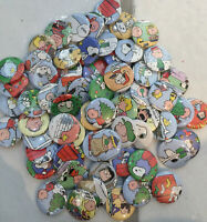 Peanuts Lot Vintage Buttons Pins Party Favors Christmas Snoopy Charlie Brown