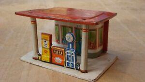Penny Toy Fischer Tankstelle, Blech