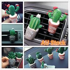Car Vent Clip Air Freshener Perfume Diffuser Plant Cute Cactus Decoration New
