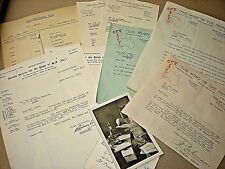 1949-1950. AUSTRALIAN BROADCASTING. RADIO STATION 6 K Y. BATCH PAPER STUFF