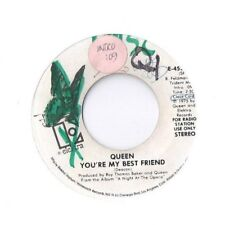 QUEEN You're My Best Friend 45 RECORD RARE DJ WLP PROMO 1975