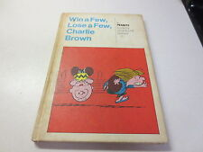 Win a Few, Lose a Few, Charlie Brown a Peanuts book by Charles M. Schulz 1st ed.