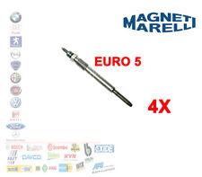 KIT 4 PEZZI CANDELETTE MAGNETI MARELLI FIAT 55210051 MOTORI 1.3 MULTIJET EURO 5
