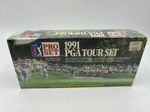 1991 Pro Set PGA Tour Golf Factory Sealed Unopened 285 Trading Card Set Box