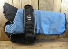 Dog Coat Belly AniMate Waterproof Padded Reflective Winter Blue Type B 18 - 22""