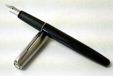 Vintage Refurbished Parker 'Frontier' Steel Fountain Pen