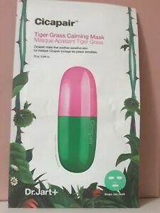NEW Dr Jart+ Cicapair Tiger Grass Calming Mask 25g, 1 Mask