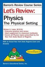 NEW - Let's Review Physics: The Physcial Setting (Let's Review Series)