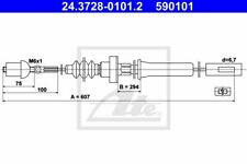 ATE CABLE D'EMBRAYAGE POUR VW POLO CLASSIC 1.0,DERBY 0.9,AUDI 50 0.8,1.1,1.3