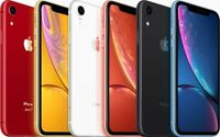 Apple iPhone XR - 64GB 128GB 256GB - Unlocked / Network Locked - GRADE