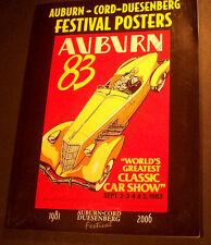 Auburn Cord Duesenberg Festival Book of Posters Speedster ACD Club Parts Art 812