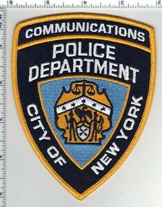 Police Communications Shoulder Patch