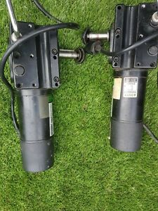Invacare  Electric Motors 24v & Braking System & Free wheel  Superb %  PAIR
