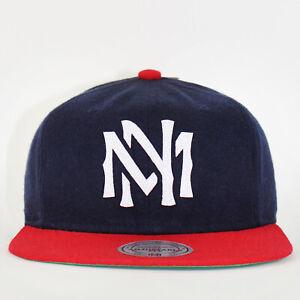 Mitchell & Ness Strapback Cap M&N Bra Logo Sisto Navy / Red Hat