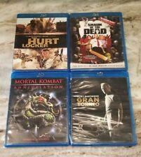 LOT 4 - Blu-Rays - Hurt Locker, Gran Torino, Shaun of the Dead & Mortal Combat