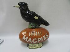ORIGINAL MAGPIES STATUE JIM BEAM DECANTER COLLINGWOOD PIES FOOTBALL