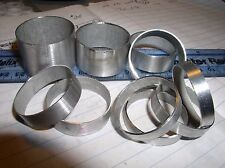 "1.25"" 10 PIECE  5 sizes  SPACER KIT for auto use mag lite d cell"