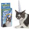 Inflable Unicornio Cuerno para Gatos Vinilo Blanco Mascota Disfraces de Archie