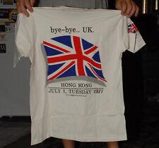 WELCOME BACK TO CHINA HONG KONG T SHIRT CHOCOLATE BRAND NEW NO TAGS MINT UK