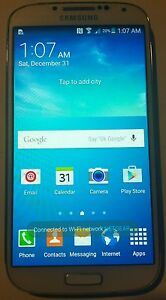 Samsung Galaxy S4 SGH-I337 - 16GB - White Frost - Factory Unlock (AT&T)