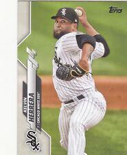 2020 Topps MLB Chicago White Sox Kelvin Herrera Trading Card