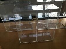 Acrylic Counter Top Display Case Snack Cofffe Shop Display Organizer Shelf