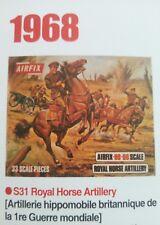Airfix. Artillerie royale à cheval WWI. Anglais ( 174 pièces ) 1 boîte.1/72.