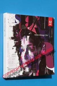 Adobe Indesign CS6 Windows Vollversion deutsch mit Orginal-DVD - incl. MwSt
