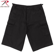 5de1261edca4 Rothco Long Length BDU Short - 7969 Black L