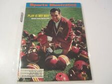 1973 George Allen Washington Redskins Autographed Sports Illustrated w/coa