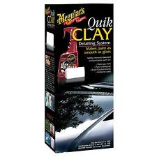 Meguiars Quik Clay Starter Kit - Quick Clay Smooth As Glass Finish 50g Clay Bar