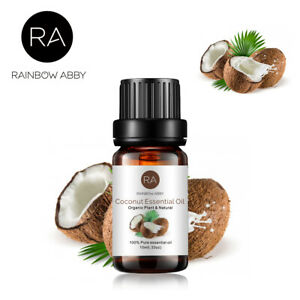 Coconut Essential Oil 100% Pure Natural Aromatherapy Oils for Diffuser 10ml