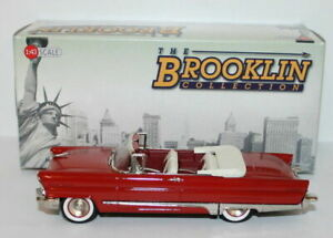 Brooklin Models 1/43 Scale BRK212 - 1956 Lincoln Premier Convertible - Red
