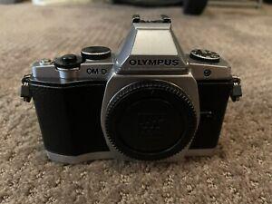 Olympus OM-D E-M5 16.1 MP Digital Camera Silver/Black MK I II III