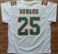 Xavien Howard autographed signed jersey NFL Miami Dolphins PSA COA Baylor