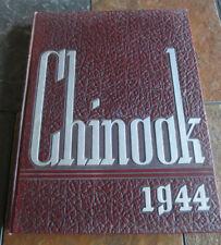1944 Wazzu Wsu 1944 Chinook Annual Yearbook Pullman Wa State University Ww2