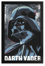 STAR WARS DARTH VADER ROGUE ONE 13x19 FRAMED GELCOAT POSTER THE FORCE JEDI NEW!!