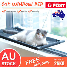 Up 26KG Cat Bed Basking Window Hammock Perch Cushion Bed Hanging Shelf Seat Pet