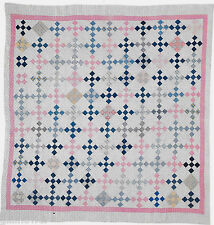 SWEET AND SIMPLE NINE PATCH PATCHWORK &  BLOCK VINTAGE QUILT PATTERN