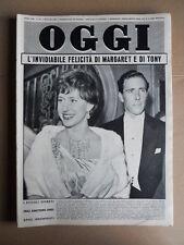 OGGI n°18 1961 Tony e Margaret d' Inghilterra - Charles De Gaulle [G748]
